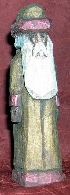Carved Santa #703 - Basswood Santa Carving by Crafty Owl