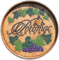 Potomac Cellars Hand Carved Barrel Head