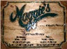 Hand Carved Business Sign - Maggie's Restaurant & Pub